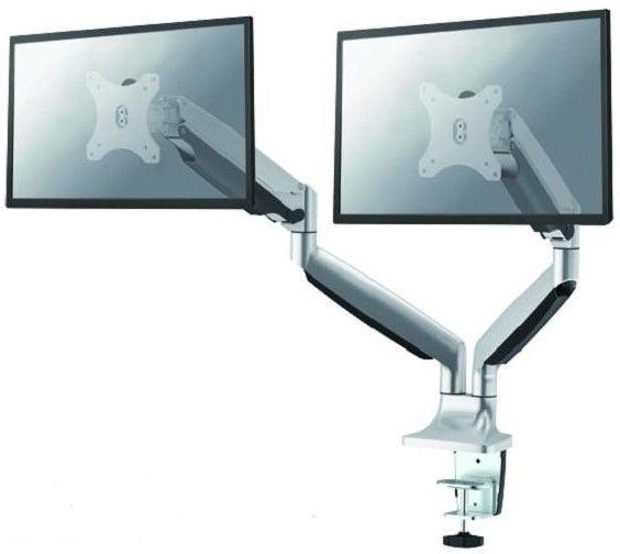 Monitoriaus laikiklis NewStar NM-D750DSILVER Flat Screen Desk Mount