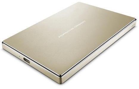LaCie Porsche Design Mobile Drive 2TB USB-C Gold STFD2000403 BULK