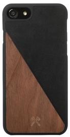 Woodcessories EcoSplit Back Case For Apple iPhone 7 Plus/8 Plus Walnut/Black