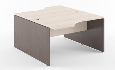 Skyland Xten X2CET 149.2 Double Desk 140x180cm Beech Tiara/Legno Dark