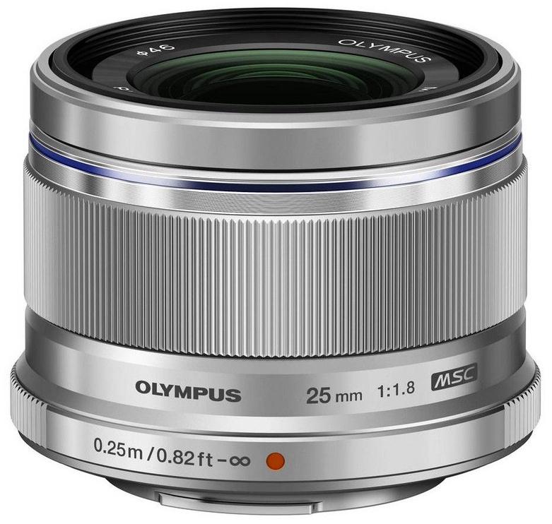 Olympus 25mm F1.8 M.Zuiko Digital Silver