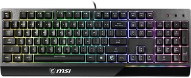 MSI VIGOR GK30 Gaming Keyboard US + Clutch GM11 Gaming Optical Mouse