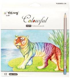 Avatar Pencils 24PCS./ Colourful Silver