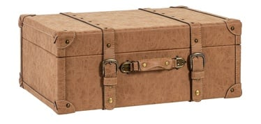 Home4you Oswald Trunk L 67x45x26cm Brown