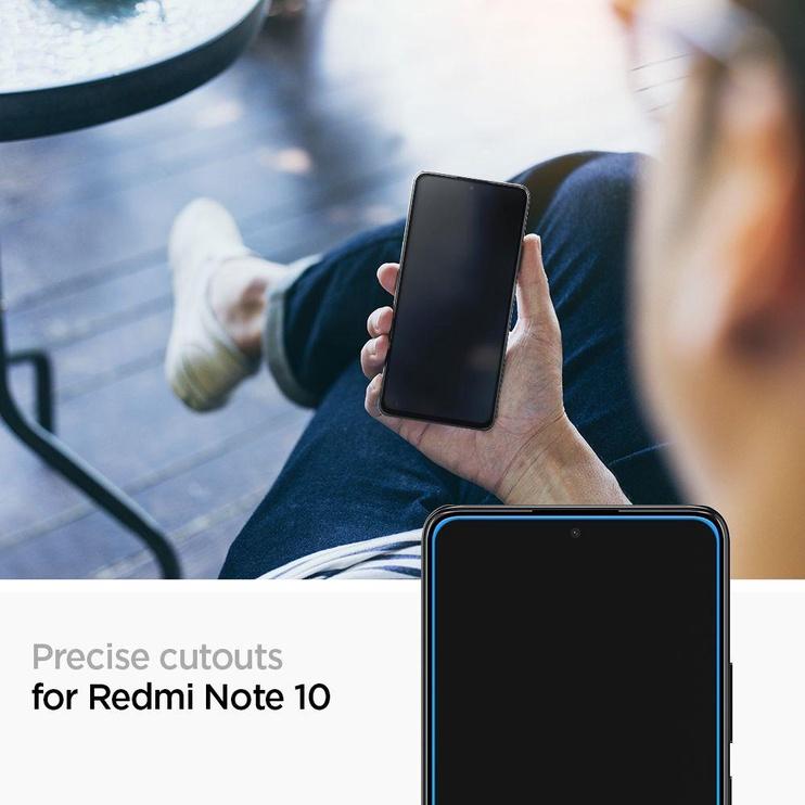 Защитное стекло Spigen Tempered Glass for Redmi Note 10