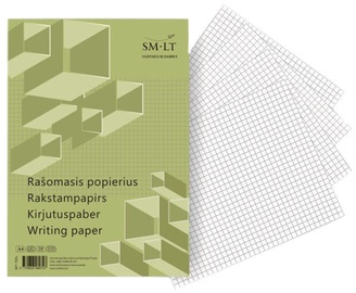 SMLT Writing Paper A4 100 Pages Plaid