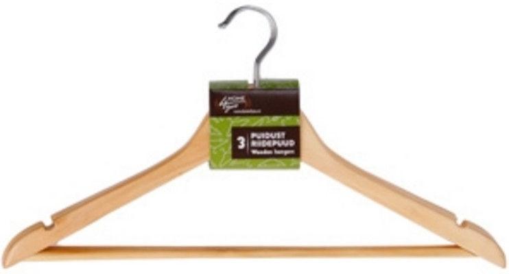 Drēbju pakaramais Home4you, 3 gab., 44 cm