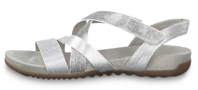Tamaris Sandal 1-1-28604-22 Silver Combination 36