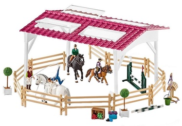 Фигурка-игрушка Schleich Riding School With Riders And Horses Set 42389