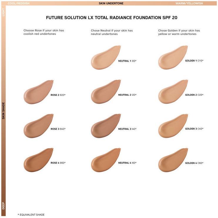 Shiseido Future Solution LX Total Radiance SPF15 Liquid Foundation 30ml R4