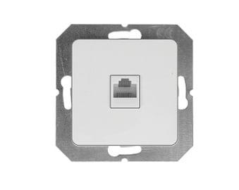 Kompiuterio lizdas Vilma SL250, baltos spalvos