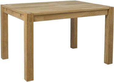 Обеденный стол Home4you Chicago 84028, дубовый, 1200x900x760мм