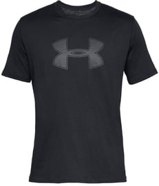 Under Armour Mens Big Logo T-Shirt 1329583 001 Black M