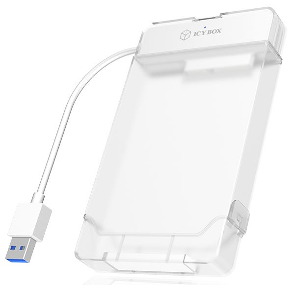 ICY BOX USB 3.0 Adapter Cable For 2.5'' SATA HDD And SSD White
