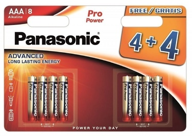 Panasonic Pro Power 4+4 x AAA