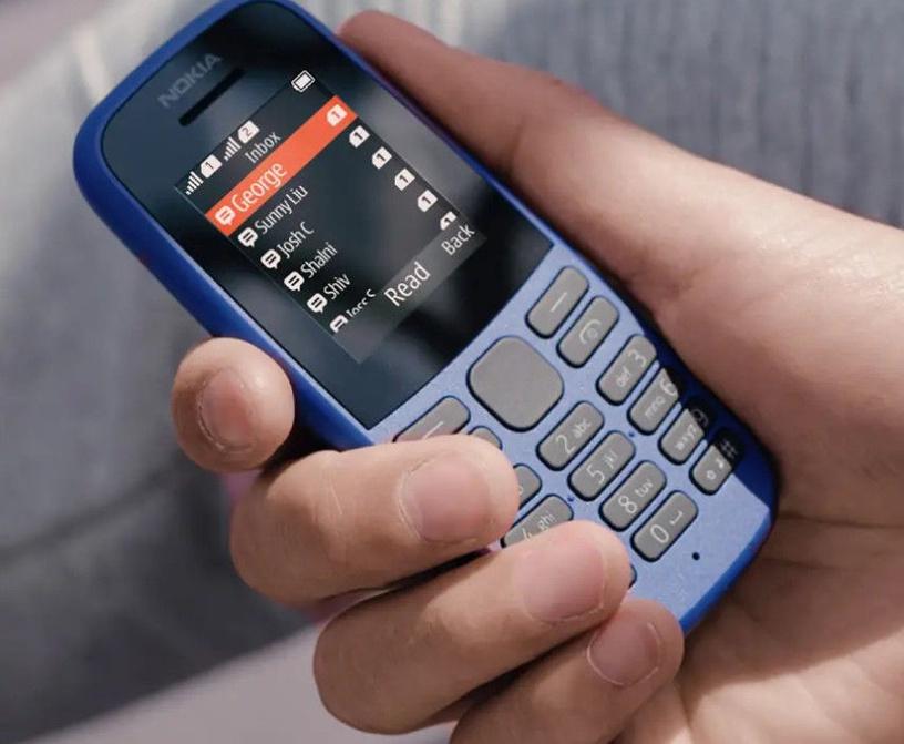 Nokia 105 2019 Dual Blue