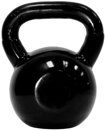 TKO Vinyl Coated Kettlebell Black 4kg