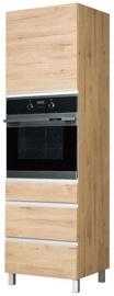 Bodzio Monia High Rise Oven Cabinet 60 Left Brown
