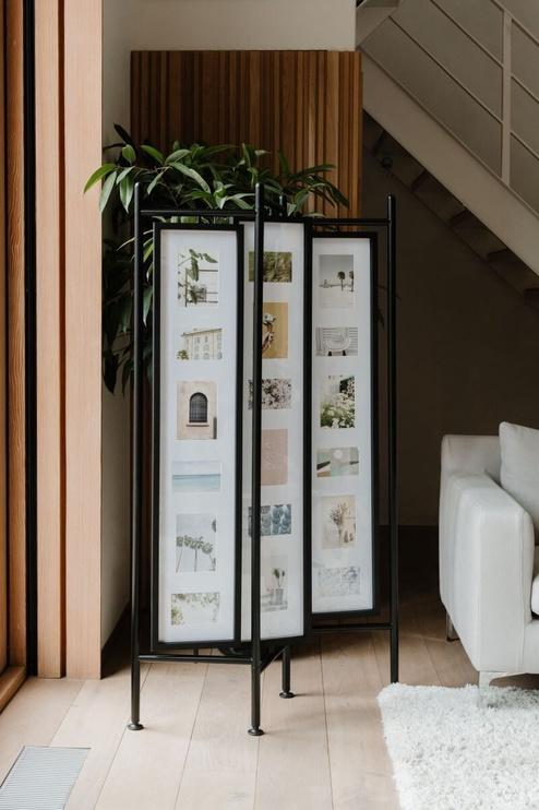 Umbra Pano Room Divider And Photo Display Black