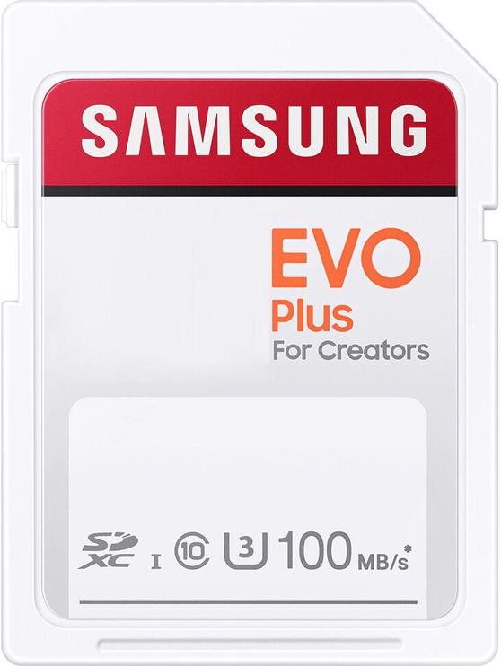 Mälukaart Samsung Evo Plus SD UHS-I U3 64GB MB-SC64H/EU