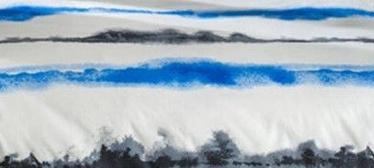 Bradley Pillowcase 50x60cm Sea