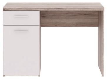 Rašomasis stalas su stalčiumi ir spintele, 110 x 76,3 x 60 cm