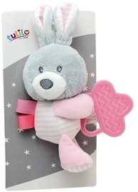Axiom New Baby Plush Toy With Teether Bunny 16cm