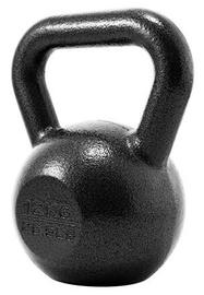 ProIron Solid Cast Iron Kettlebell Black 12kg