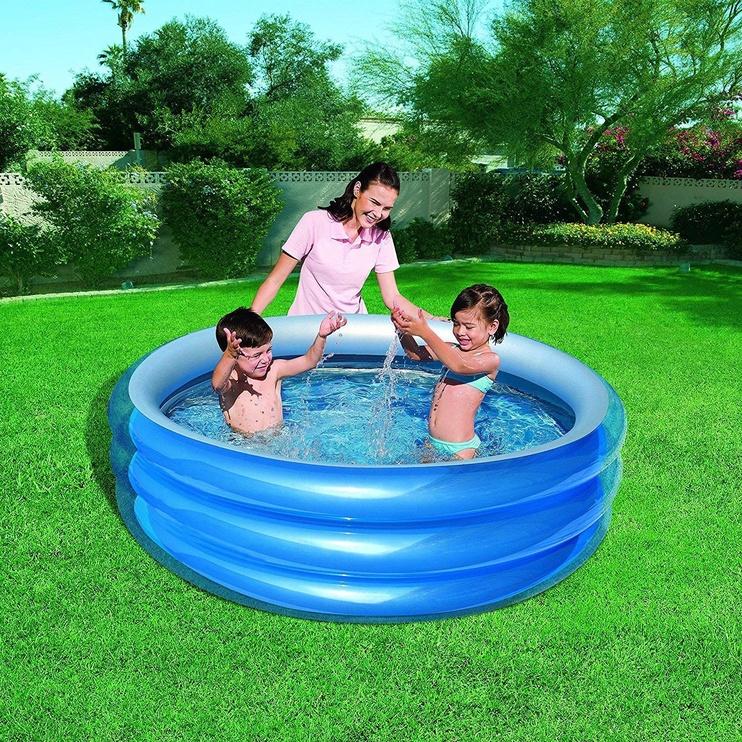 Bestway Big Mettalic Pool Blue/Silver 51043