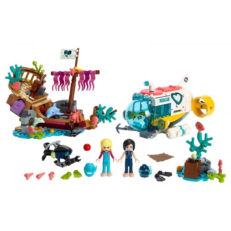Konstruktorius LEGO® Friends 41378 Delfinų gelbėjimo operacija