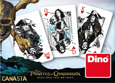 Dino Disney Pirates Of The Caribbean Playing Cards
