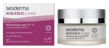 Sesderma Acglicolic Classic Moisturizing Cream SPF15 50ml