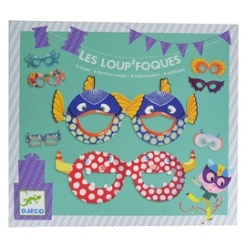 Djeco Parties Birthday Les Loup Foques Masks Set