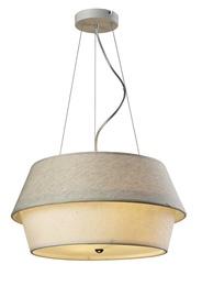 LAMPA GRIESTU A1022-4 E27 4X60W BALTA (FUTURA)