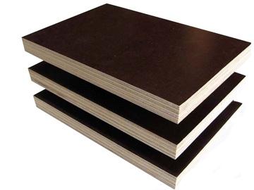 Laminuota fanera, 2500 x 1250 x 6 mm