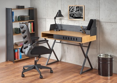 Halmar B43 Desk Oak/Black