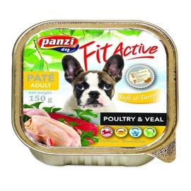 Konservuotas ėdalas šunims Fit Active Soft & Tasty, su paukštiena, 150 gr