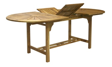 Home4you Finlay Extendable Table 153/195x60x72cm Acacia