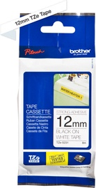 Brother Tapes TZES231 12mm Black On White