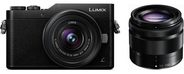 Panasonic Lumix DC-GX800 + 12-32mm + 35-100mm Kit Black