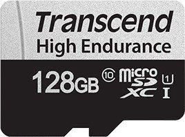 Transcend 350V microSDXC 128GB + Adapter