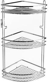 Axentia Cassandra Bathroom Shelf Angle 3-Level