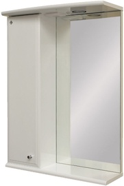 MN Kvadro 08 Bath Cabinet with Mirror Left