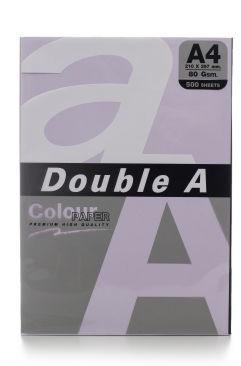 Бумага Double A Colour Paper A4 500 Sheets Levender