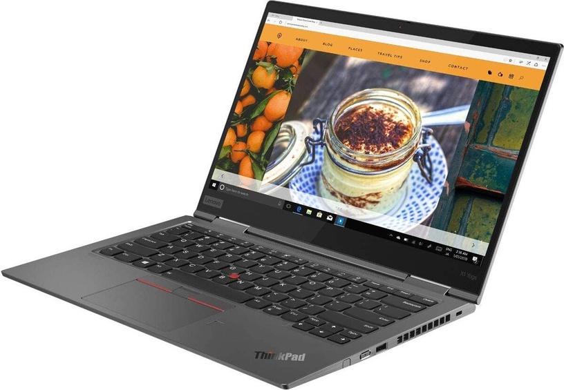 "Nešiojamas kompiuteris Lenovo Yoga ThinkPad X1 5 Iron Gray 20UB004EMH PL Intel® Core™ i5, 16GB, 256GB, 14"""