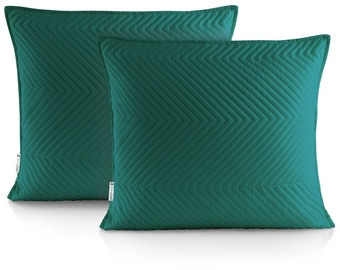 DecoKing Messli Pillowcase Ocean Green 45x45 2pcs