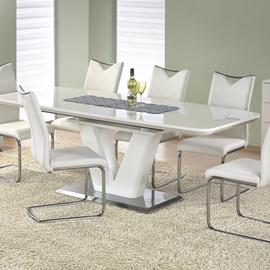 Обеденный стол Halmar Mistral White, 1600-2200x900x770 мм