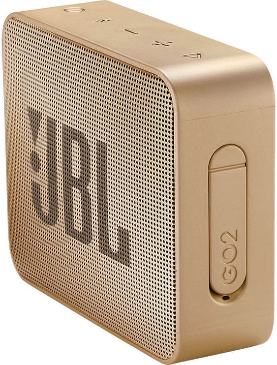 Belaidė kolonėlė JBL GO 2 Bluetooth Speaker Pearl Champange