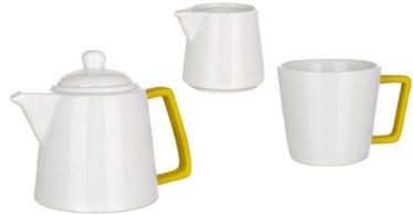 Nõude komplekt Banquet Color Plus Tea Set 3pcs Yellow