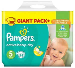 Sauskelnės Pampers Active Baby-Dry S5